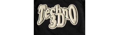 Плёнка флекс для термопереноса 3D Techno Siser (эффект шелкотрафарета)