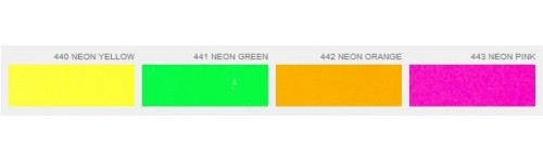 Плёнка флекс для термопереноса неоновая Poli-Flex Premium Neon
