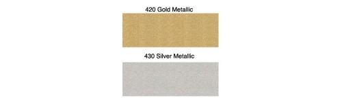 Плёнка флекс для термопереноса матовый металл Poli-flex Premium