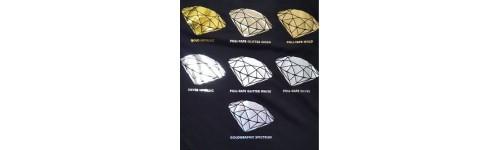 Пленки для термопереноса метализированные,глиттерные,голографические